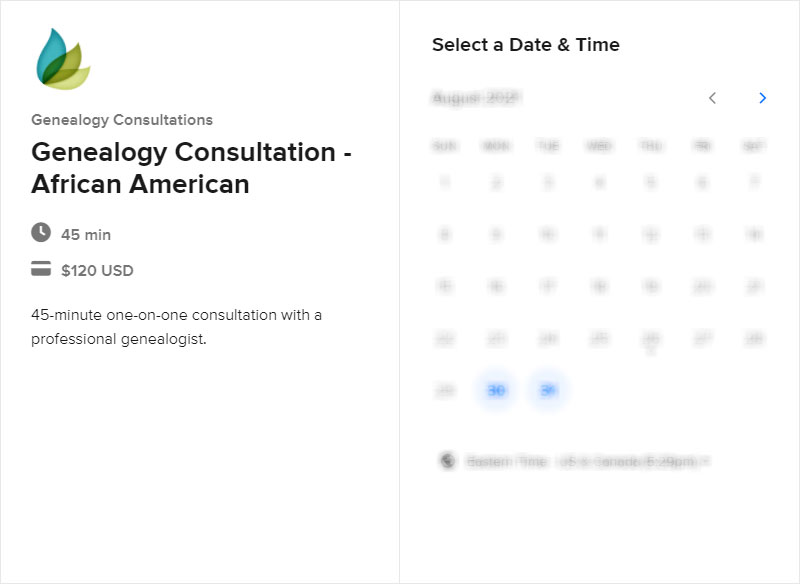 Schedule a Consultation African American