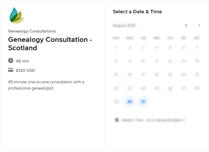 Schedule a Scotland Consultation