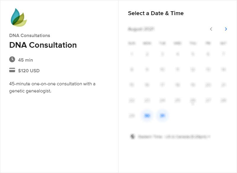 Schedule a DNA Consultation