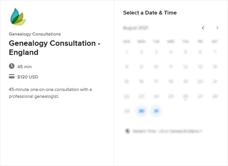 Schedule a Scotland a Consultation for England