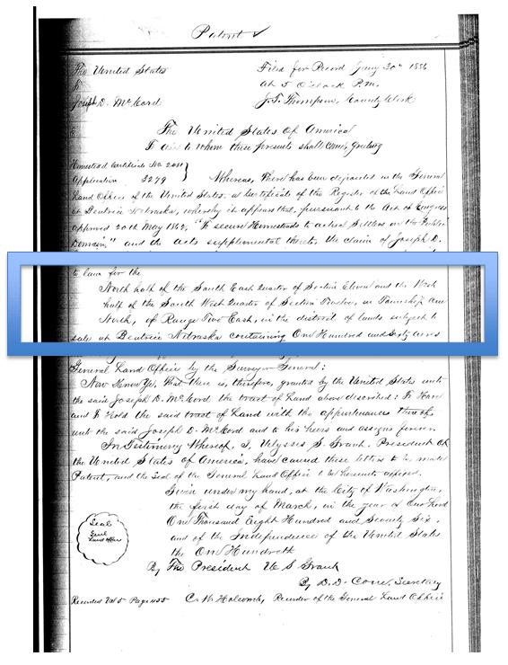Property Records genealogy