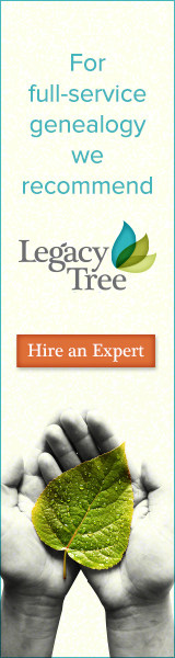 For full service genealogy we recommend Legacy Tree Genealogists