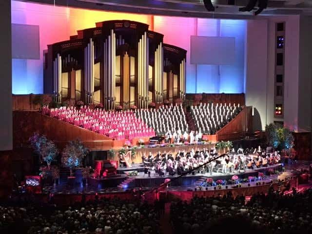 RootsTech 2017 Genealogy Conference Mormon Tabernacle Choir