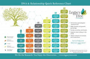 DNA & Relationship Chart