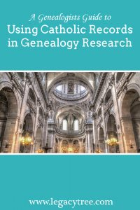 Catholic records in genealogy research