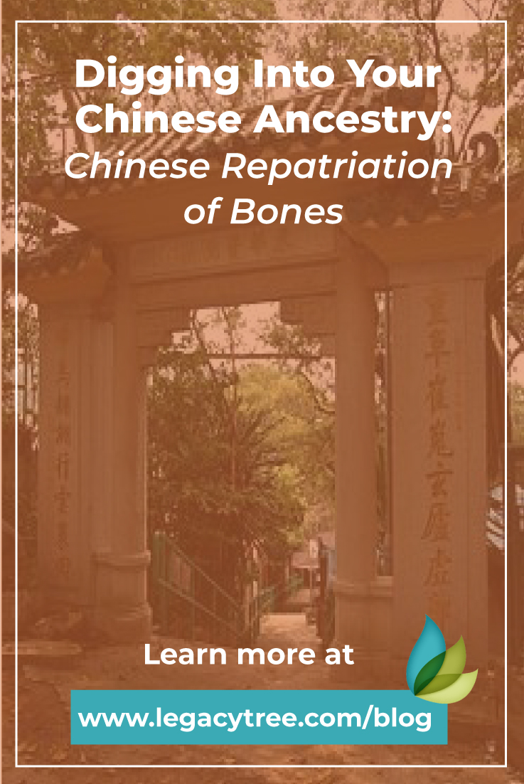Learn about the Chinese repatriation of bones and how you can uncover records related to your Chinese ancestors.