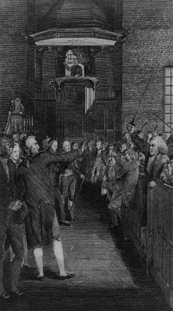 Elkanah Tisdale Town Meeting 1795