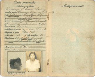 "The ""Cédula de Vecindad"" identification document for Guatemalan citizens."