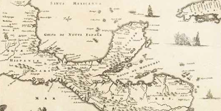 Map of Kingdom of Guatemala