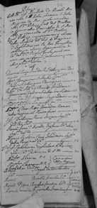 Record of King James III in Exile