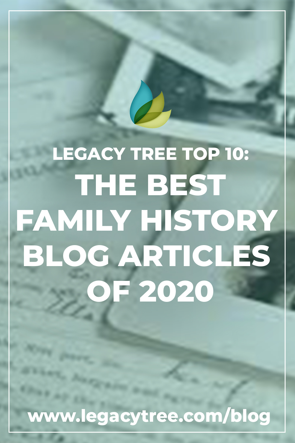 Another year has come and gone, and what a year it has been! Before we usher 2020 out the door, we want to share our countdown of the best family history blog articles from the past year. Did your favorite make the list?