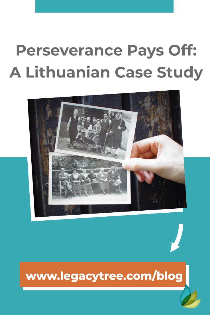Lithuanian family history can be difficult to uncover. With perseverance, our onsite researchers in LIthuania were able to uncover extraordinary details!