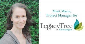 Marie, professional genealogist