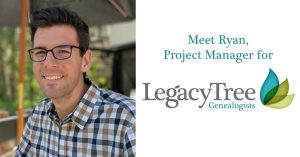 professional genealogist Ryan Rockwood