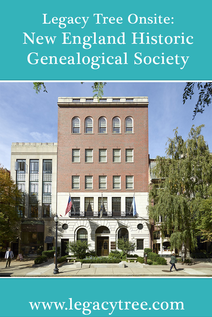 Legacy Tree Genealogists works with researchers all over the globe to access records for our clients. We asked one of our researchers in Boston to share the ins and outs of planning a genealogy research trip to the New England Historic Genealogical Society (NEHGS).
