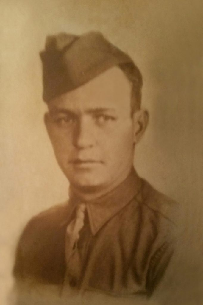 D-Day memorial for Pvt. James William DeGraff