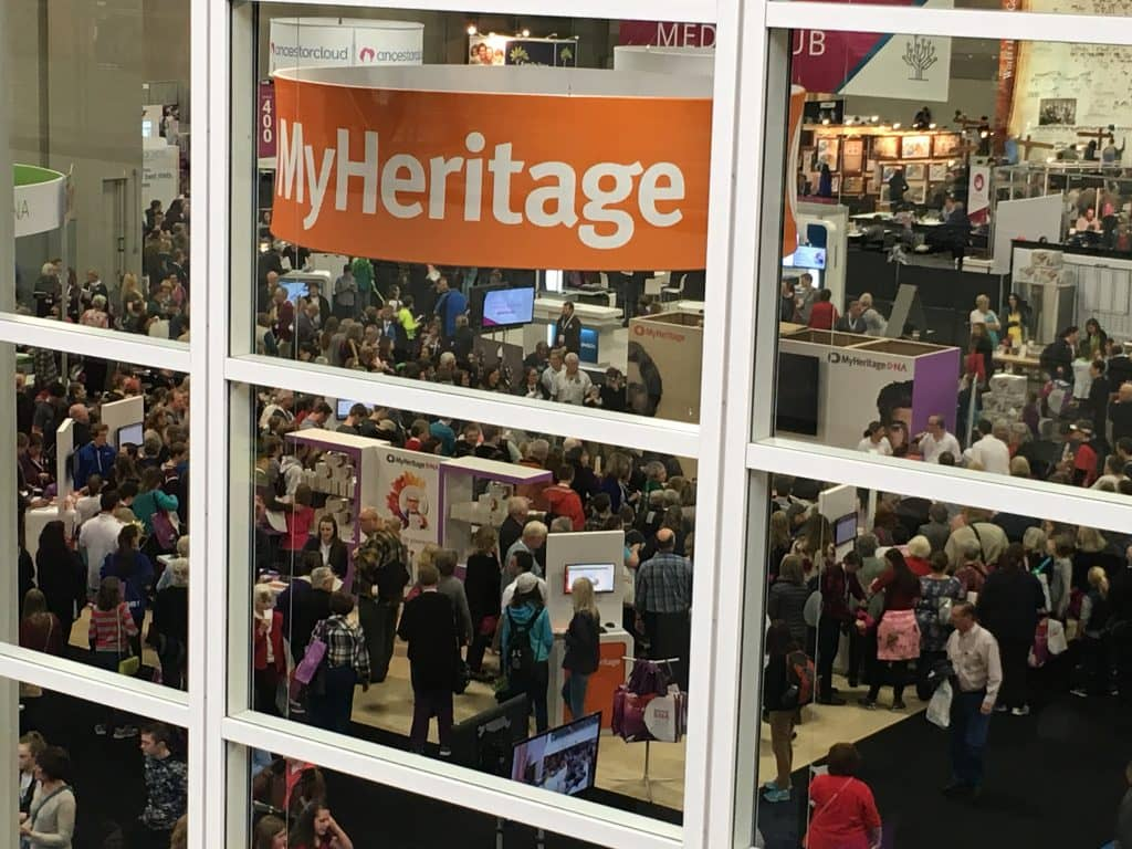 RootsTech 2017 Genealogy Conference Expo Hall