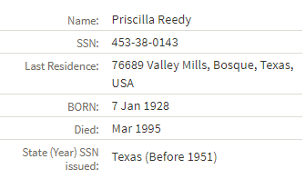using Social Security Administration records for genealogy