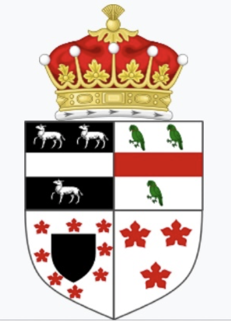 The coat of arms of the Earl of Durham