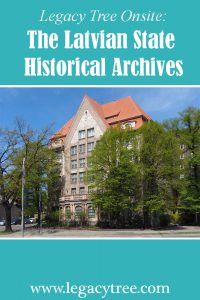 Latvian State Historical Archives