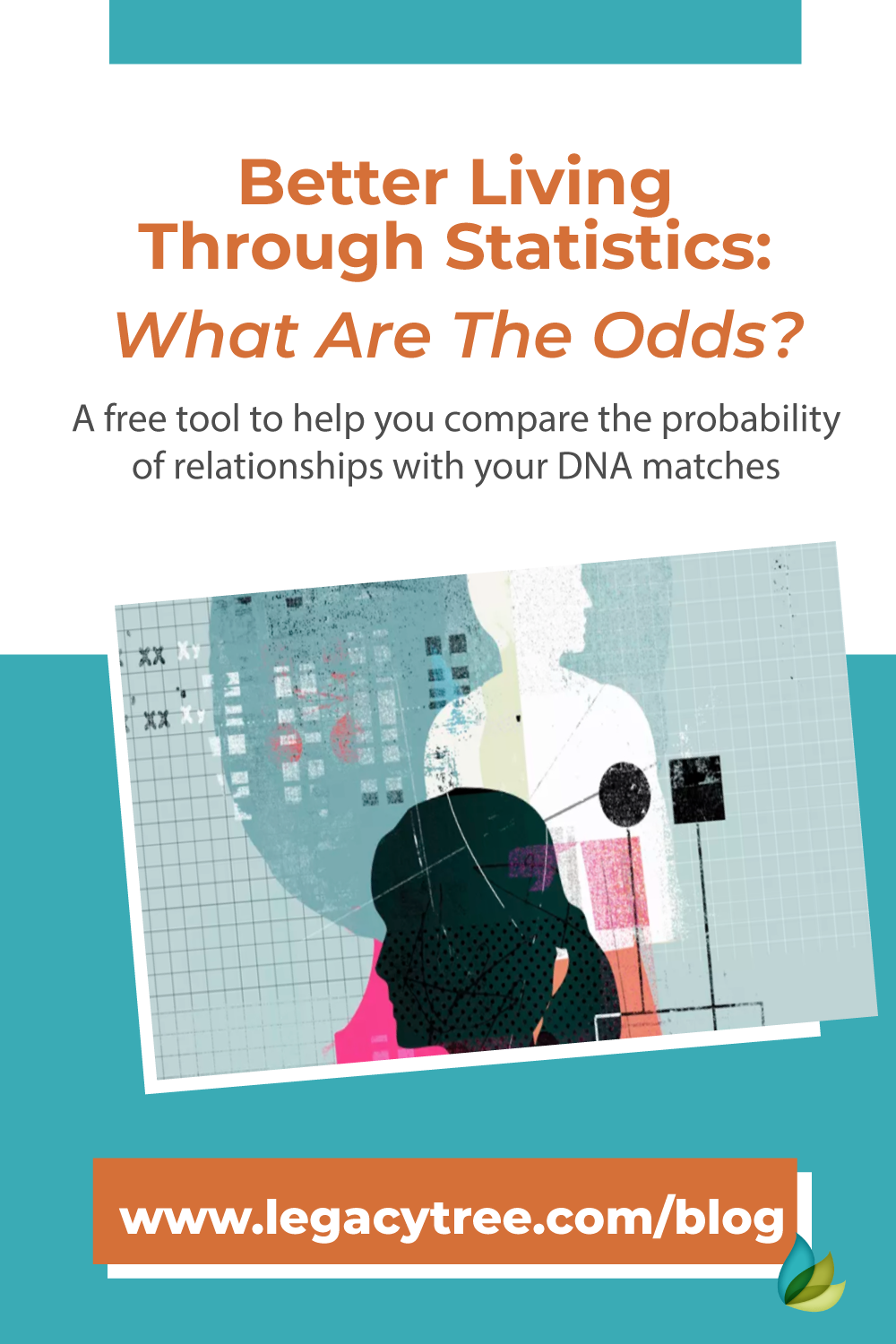 The What Are the Odds DNA tool is a free resource to help you compare the probability of relationships with your DNA matches. Learn more!