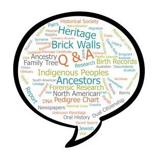 Ask a Genealogist