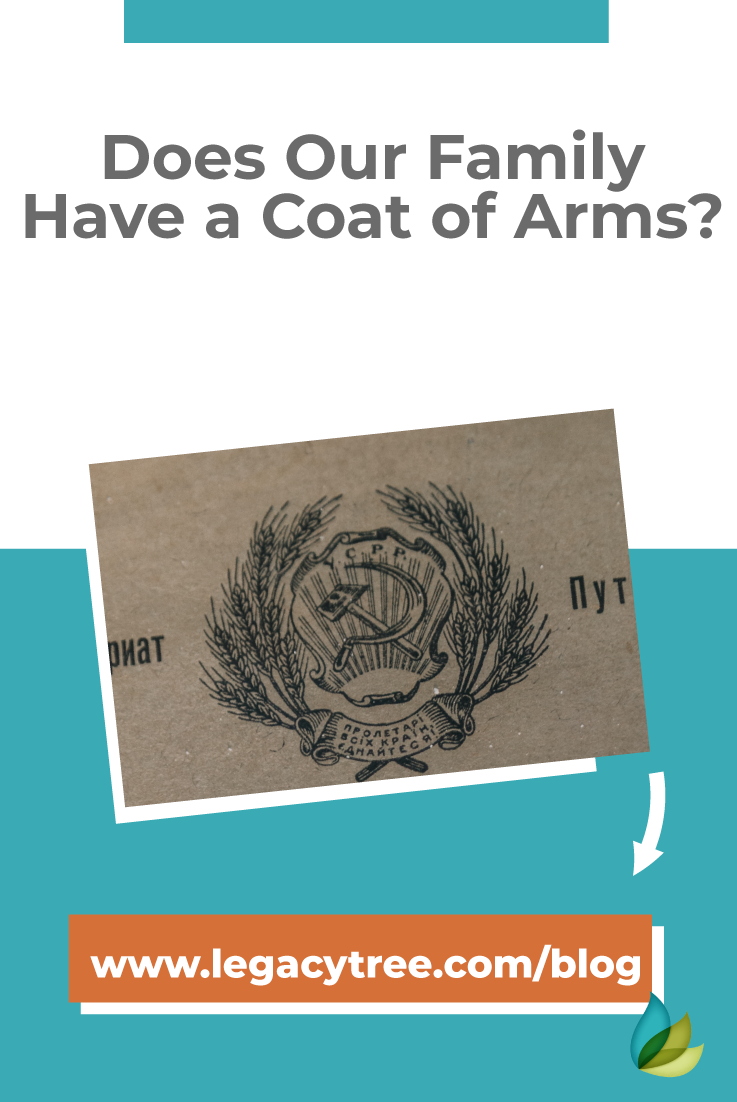 Are you curious if your family has a coat of arms that you could be entitled to? Here's your FAQs, and what you need to know about a family's coat of arms.