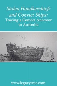 convict ancestor