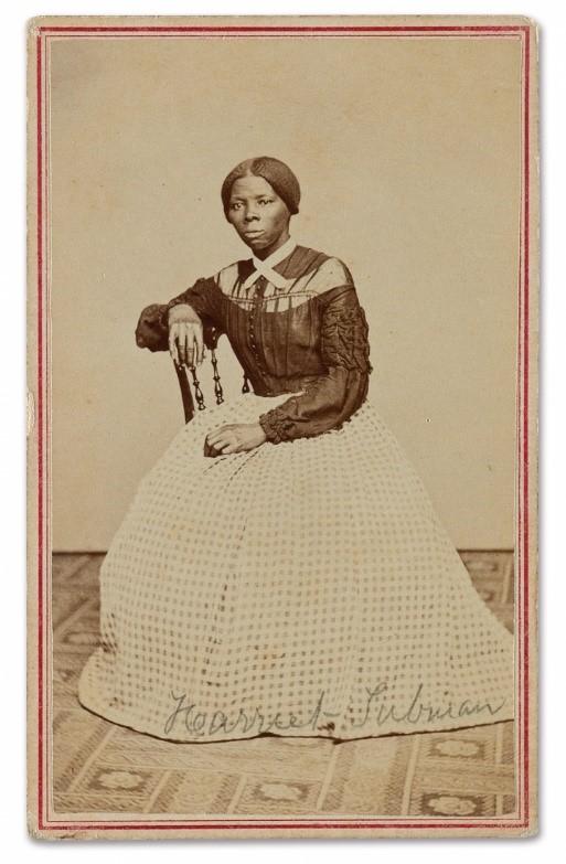 Carte-de-visite of Harriet Tubman,