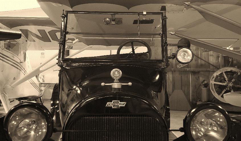 1918 Chevrolet Model 490 Touring Car