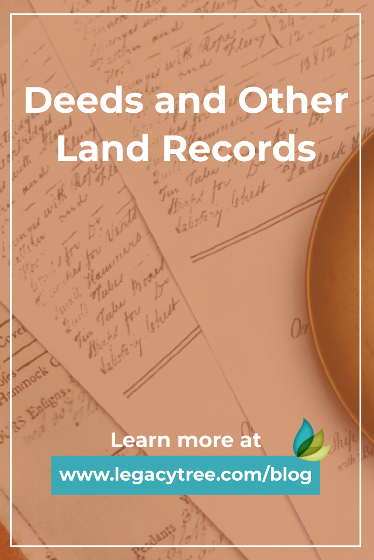 If you're stuck in your genealogy journey, perhaps access to deeds and other land records will help break through your ancestry's brick walls!