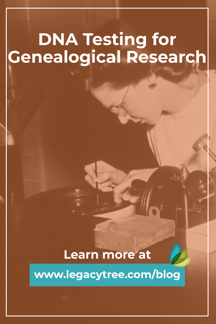 DNA testing for genealogical research is a relatively new concept. Here we break down the basics of each type of DNA test, and the companies that offer it.