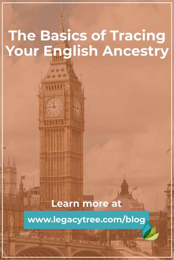 If you have ancestors from England, you are in luck! Learn the basics of tracing your English ancestry with our tips and tricks.