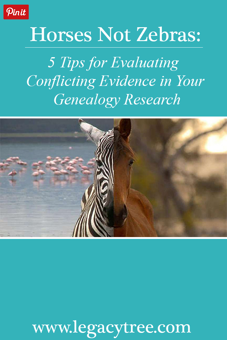 Have you encountered conflicting evidence in your #familyhistory research? You're not alone! As professional #genealogists, our team is skilled at scouring the various #genealogyresources to provide accurate and verifiable #familytrees for our clients. We share our top 5 #tips for resolving conflicting evidence in your #genealogyresearch.
