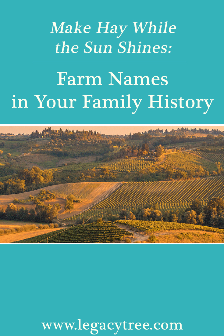 Farm Names In Your Family History Legacy Tree Genealogists