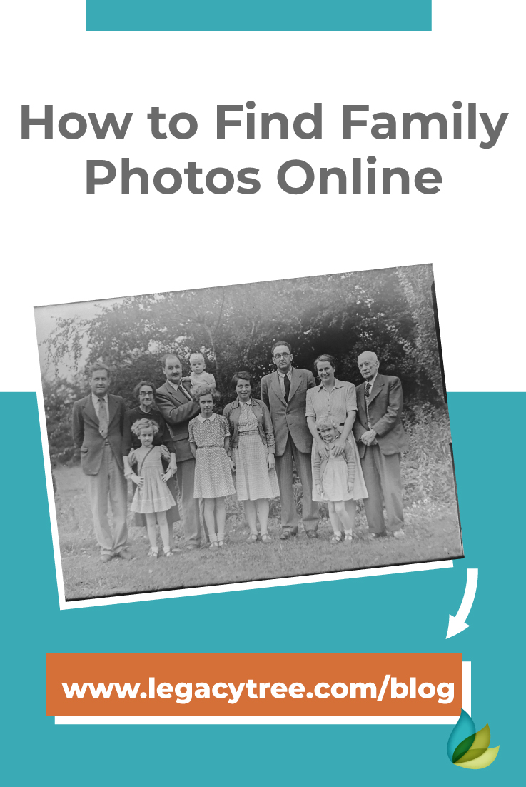 "As genealogists, we are often asked ""Can you find photos of my ancestors?"" We share 5 great websites that can help you find family photos online."