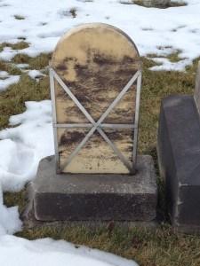 fixed headstone back