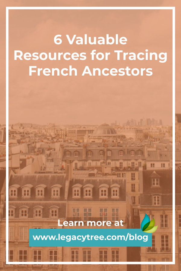 We've compiled the top resources for tracing your French ancestors. Use the tools that professional genealogists use for French family history research.