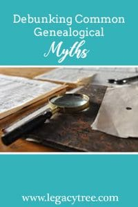 genealogical myths