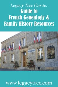 French genealogy and family history