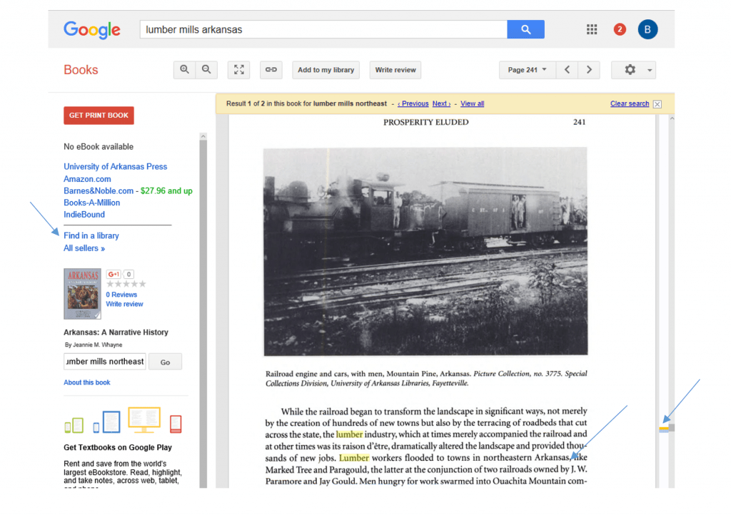 Using Google Books for genealogy research