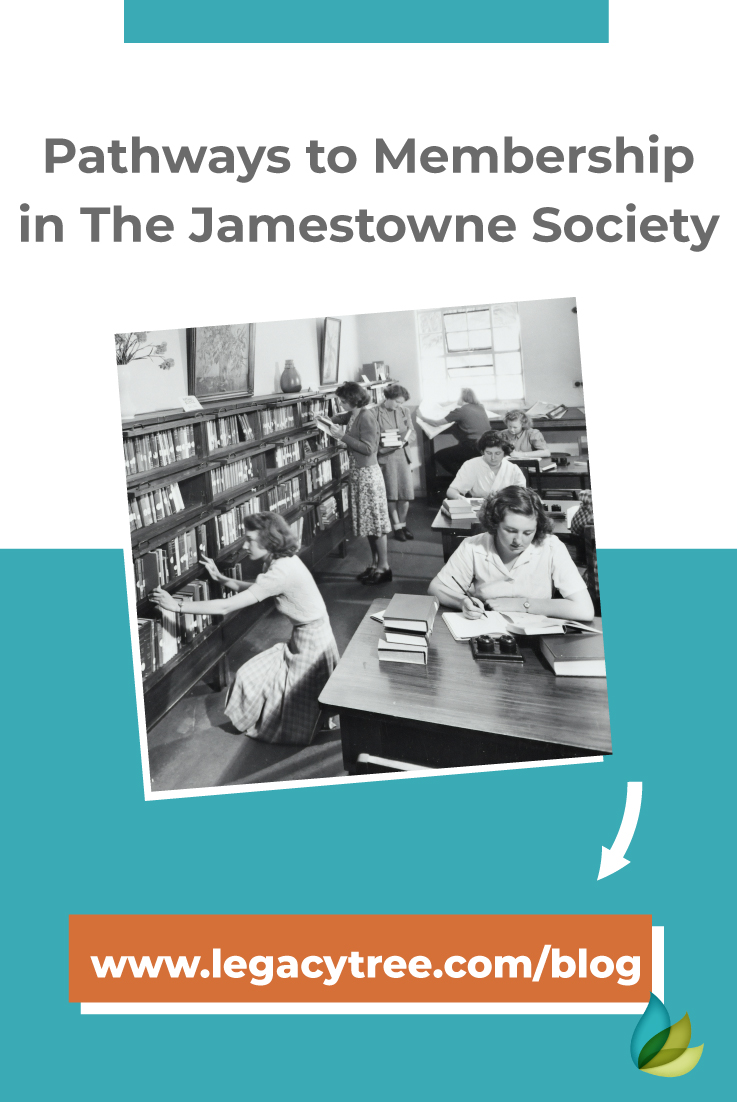Many are under the impression that to become a member of the Jamestowne Society, one must have an ancestor who was a first settler of the Jamestowne colony.