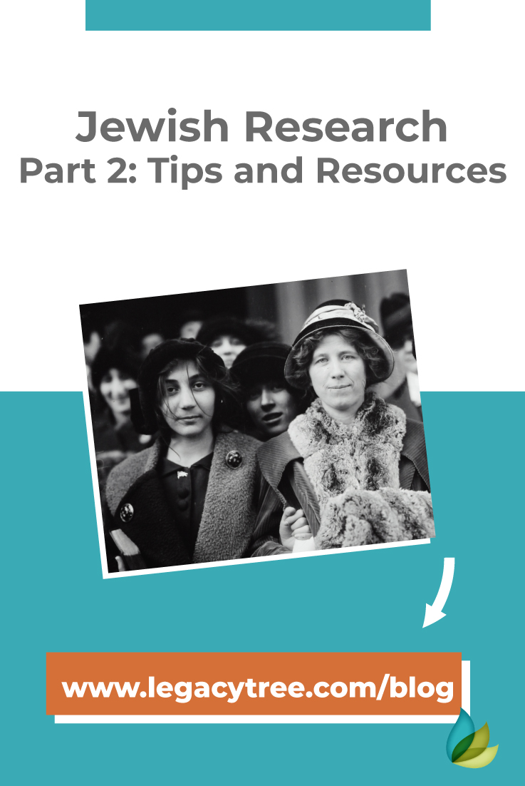 Are you looking for Jewish family history research tips and resources? We share our top tips for overcoming obstacles with Jewish genealogy research.