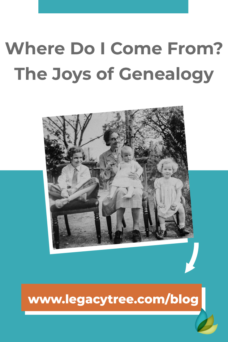 "As humans, we cannot help but ask, ""Where do I come from?"" Learn why we ask these questions and why genealogy has become increasingly popular."