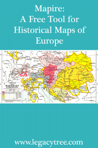 free tool for maps of Europe
