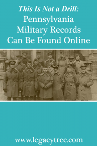 Pennsylvania military records