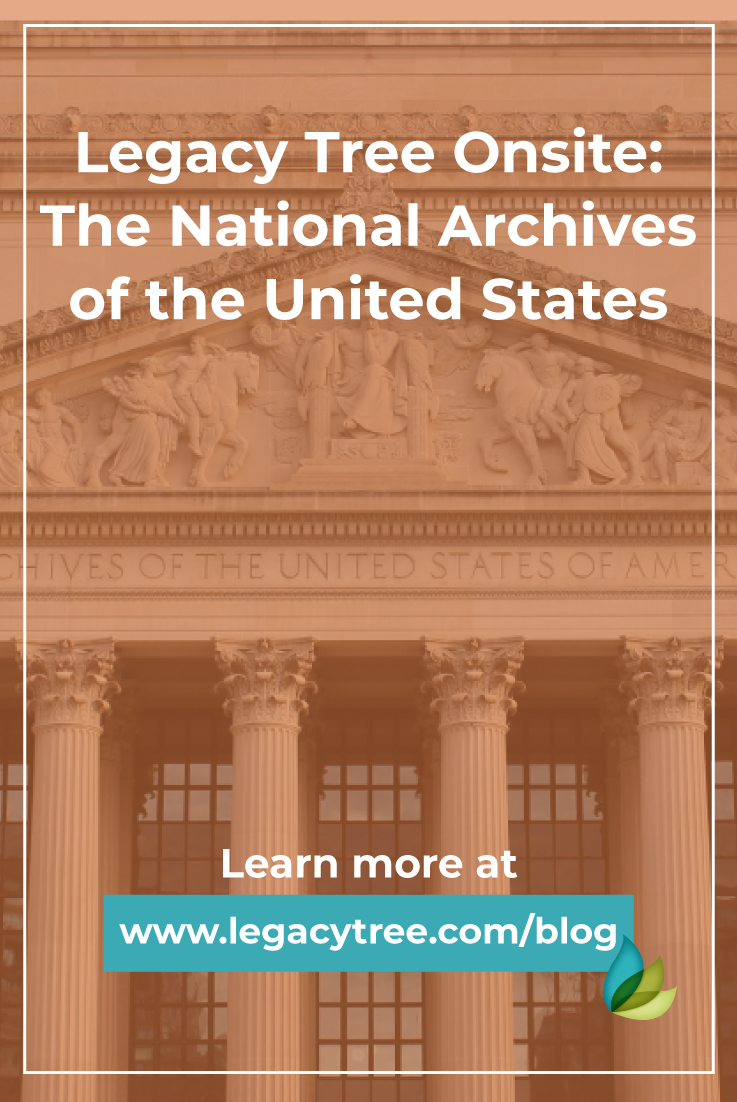 We work with researchers all over the world. One of our genealogists shares what it's like researching family history at the U.S. National Archives.