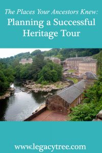 planning a successful heritage tour