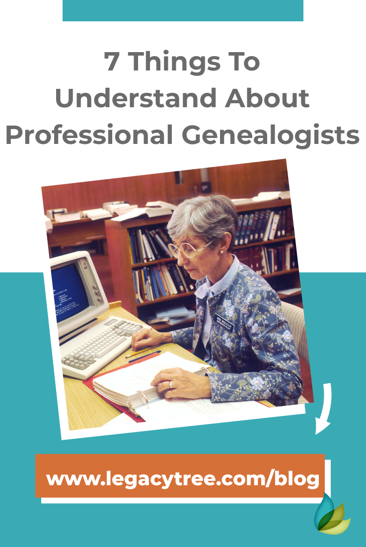 If you are looking to understand exactly what professional genealogists need to perform their best, read these 7 tips!