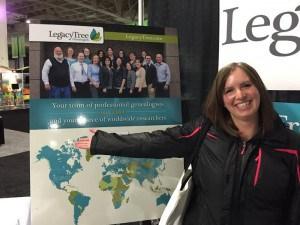 LTG researcher Rebekah Morrill.